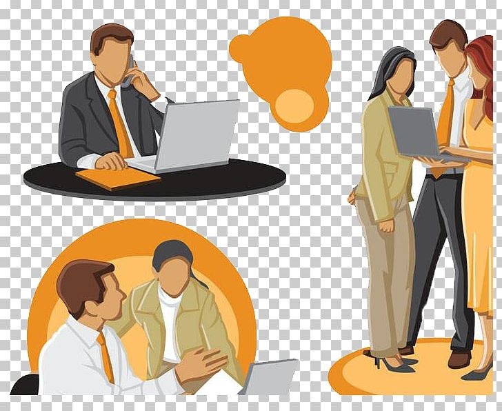 Businessperson png business cartoon. Discussion clipart adviser