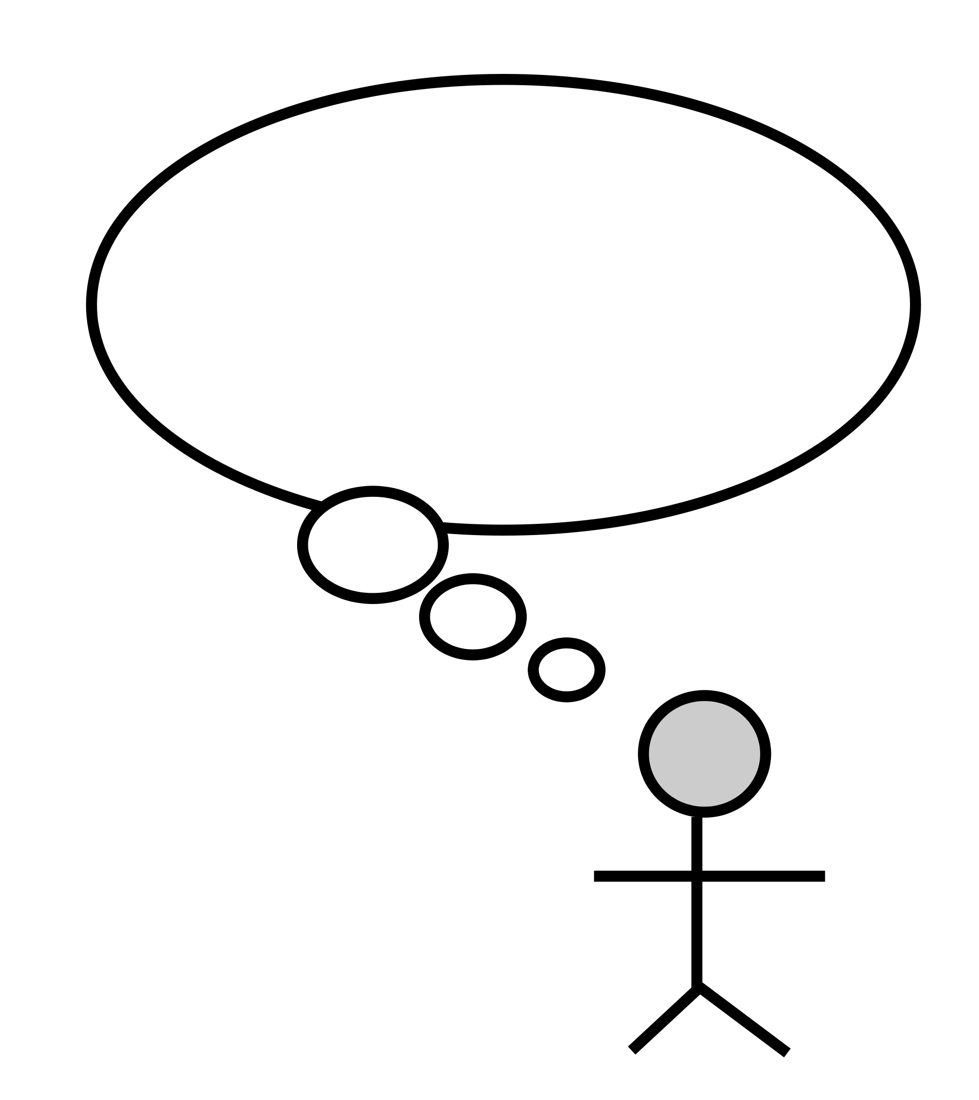 File thought bubble svg. Human clipart human thinking
