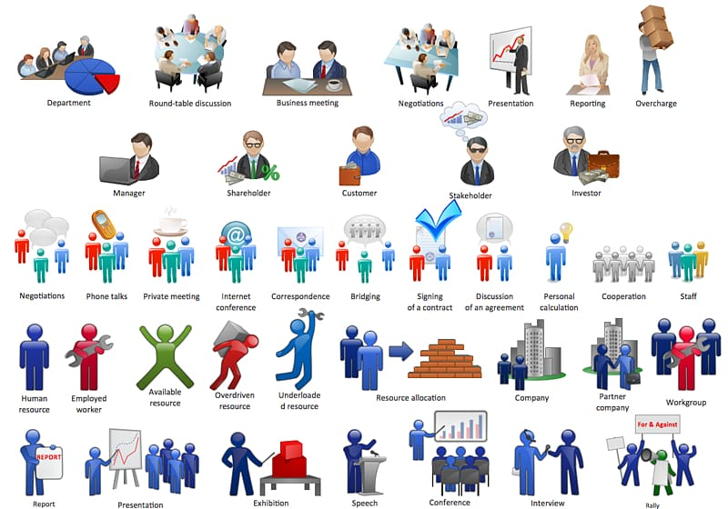 Discussion clipart company person. Business transparent background png