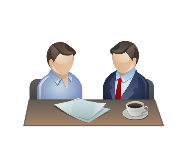 Business clip art library. Discussion clipart office discussion