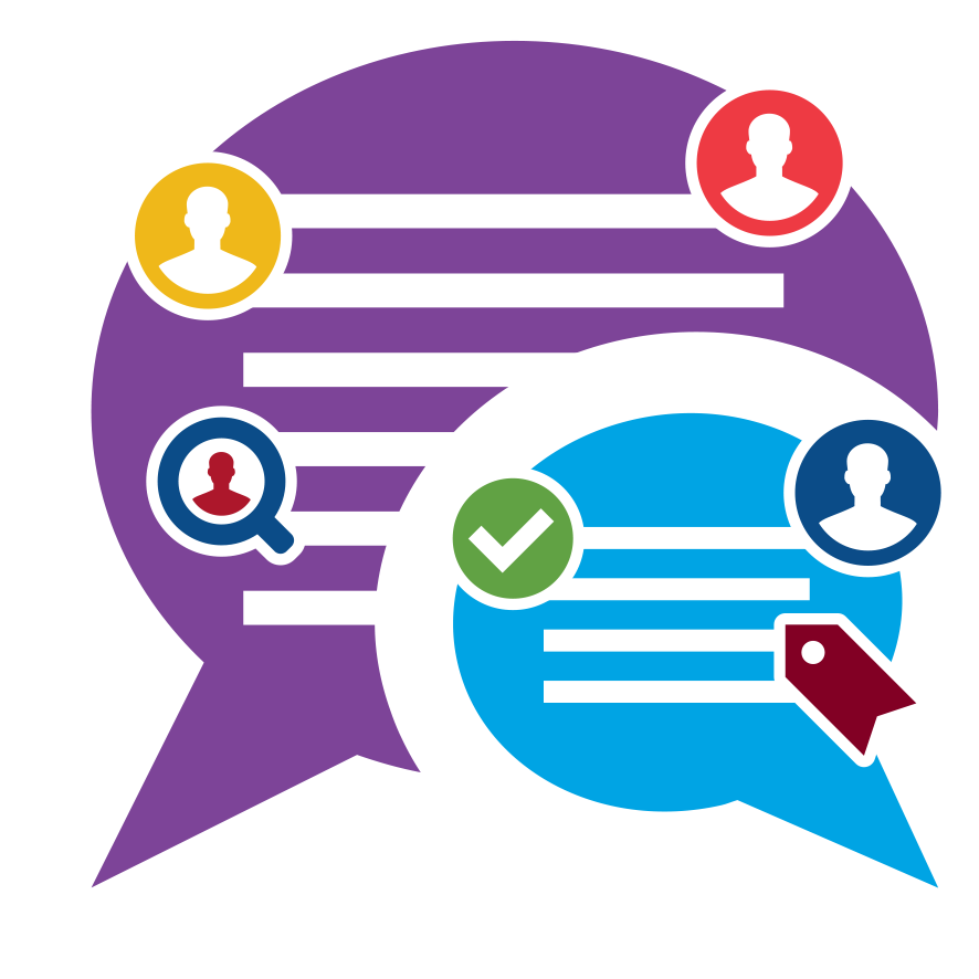 Discussion clipart partner discussion. Online community forums software