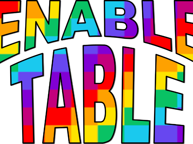 Discussion clipart plenary. Enable table sign by