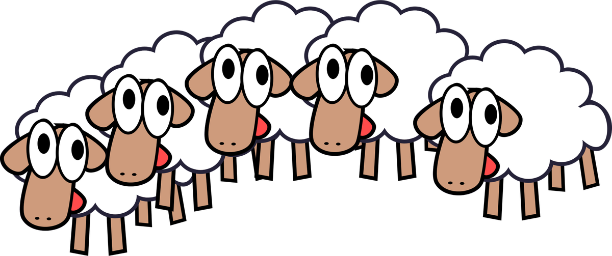 Who wants five year. Sheep clipart man