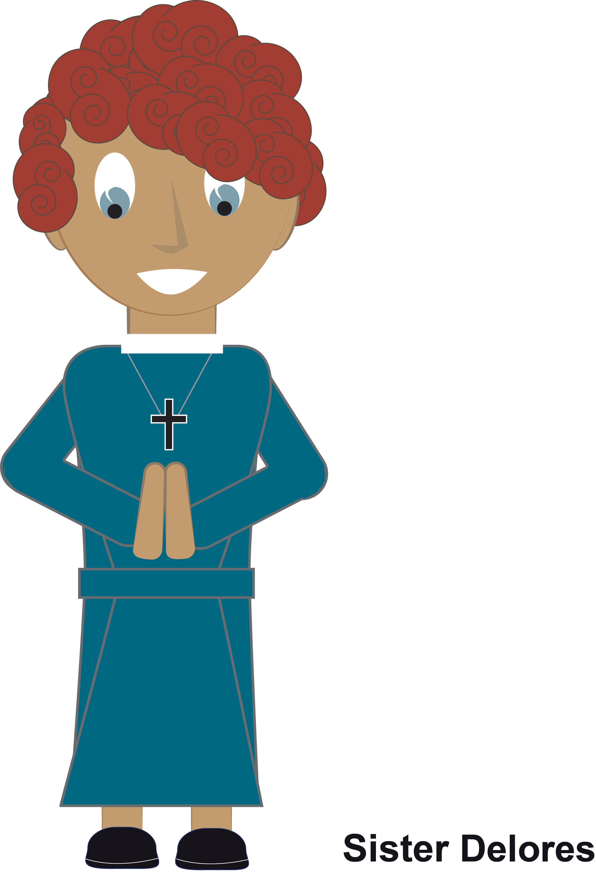 Missions clipart paper person. Year of vocations monthly