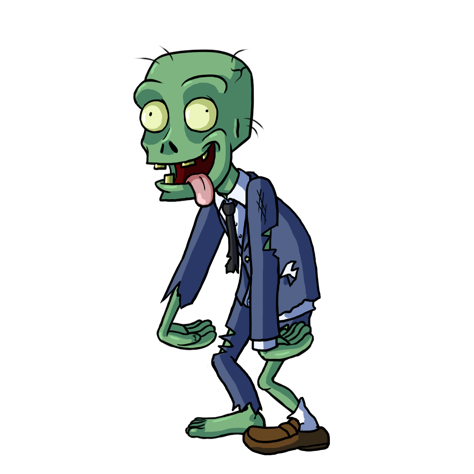 Zombie clipart carton. Png image purepng free