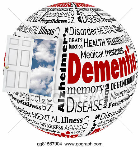 Disease clipart condition. Drawing dementia alzheimer s