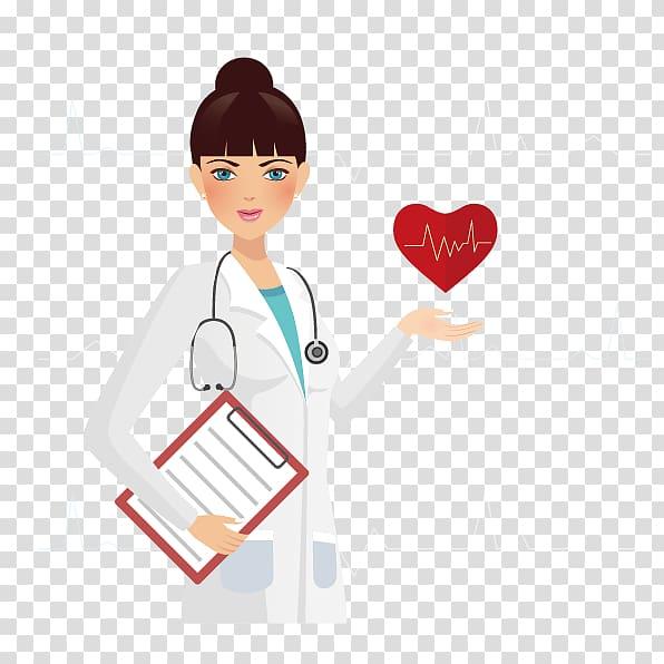 Nurse illustration physician disease. Patient clipart medical condition
