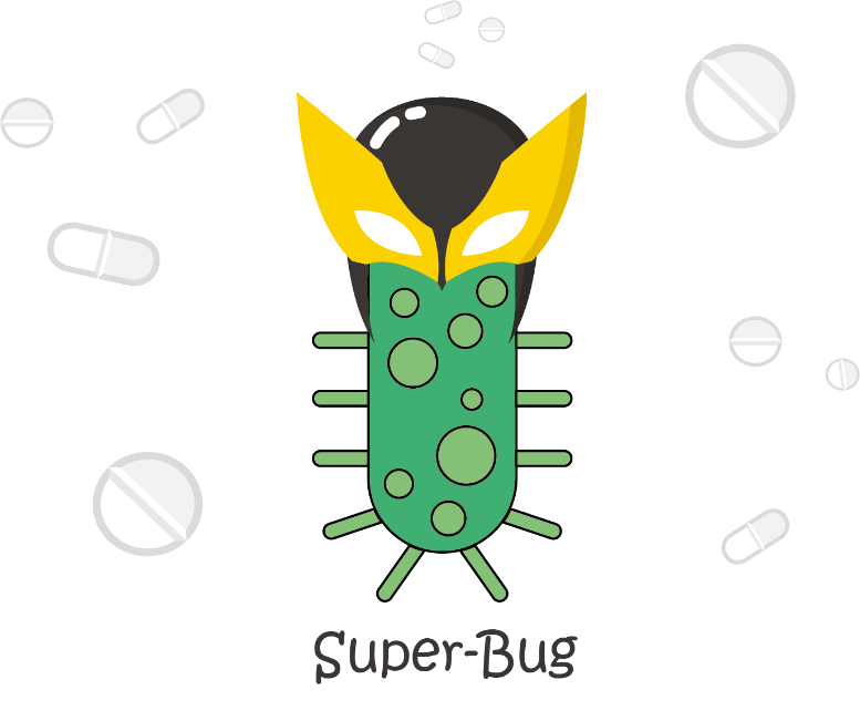 Super bugs are we. Shot clipart sexually transmitted infection