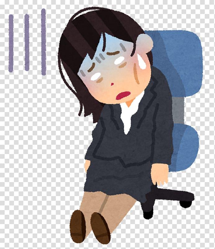 Feeling tired disease major. Stress clipart body