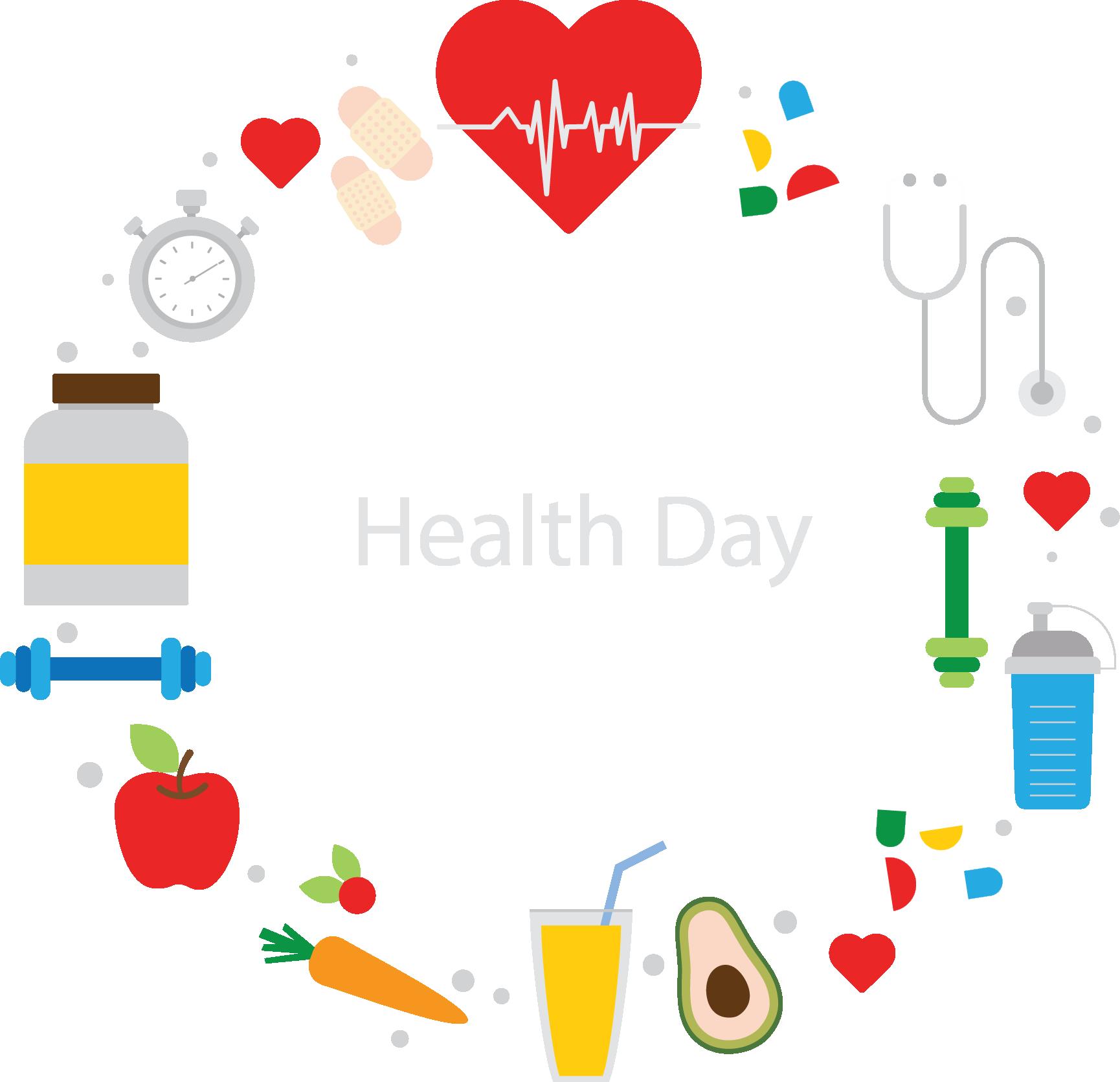 Health nutrition diabetes mellitus. Healthy clipart healthy day