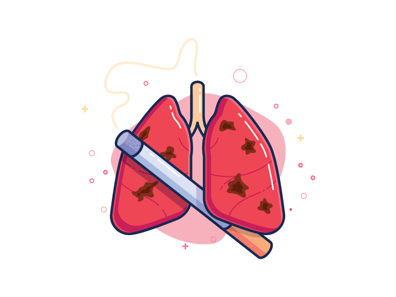 Lungs clipart lung smoker. Cigarette by imam syafei