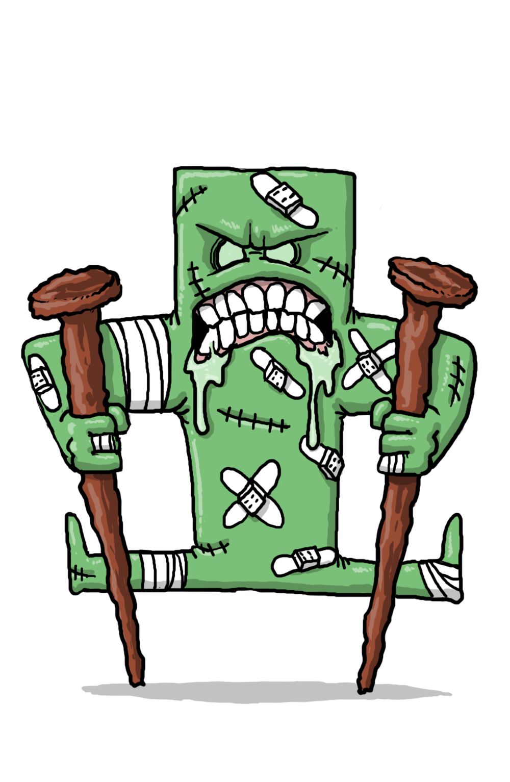 Fever clipart typhoid. Characters vaxcards tetanus ii