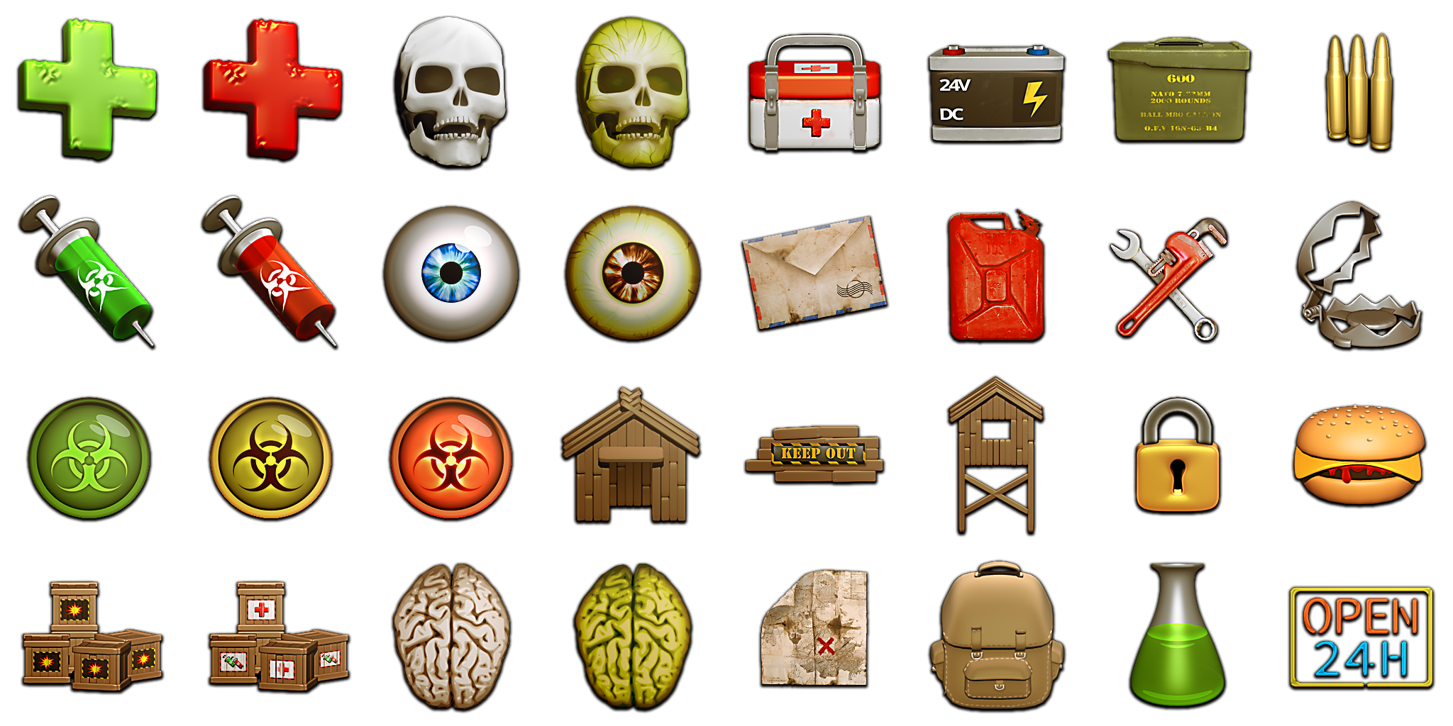 Ui pack opengameart org. Zombie clipart zombie survival