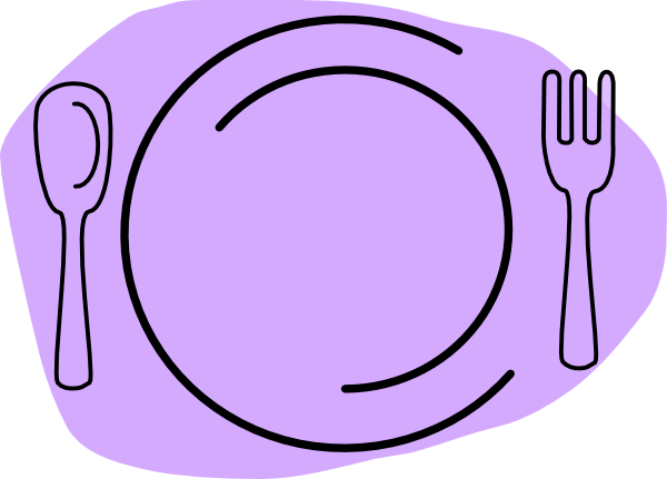 Dish clipart. Food