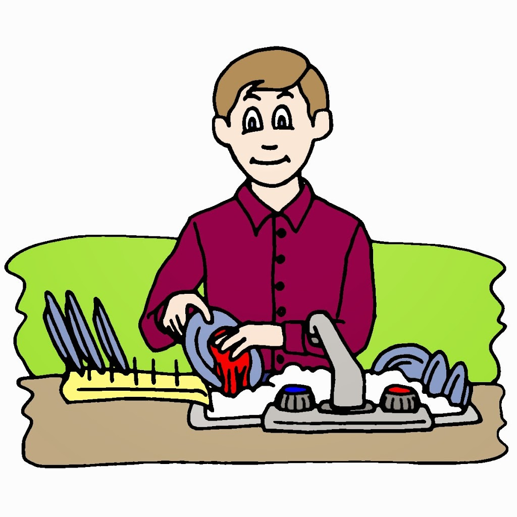 Free boy cliparts download. Dishwasher clipart kid
