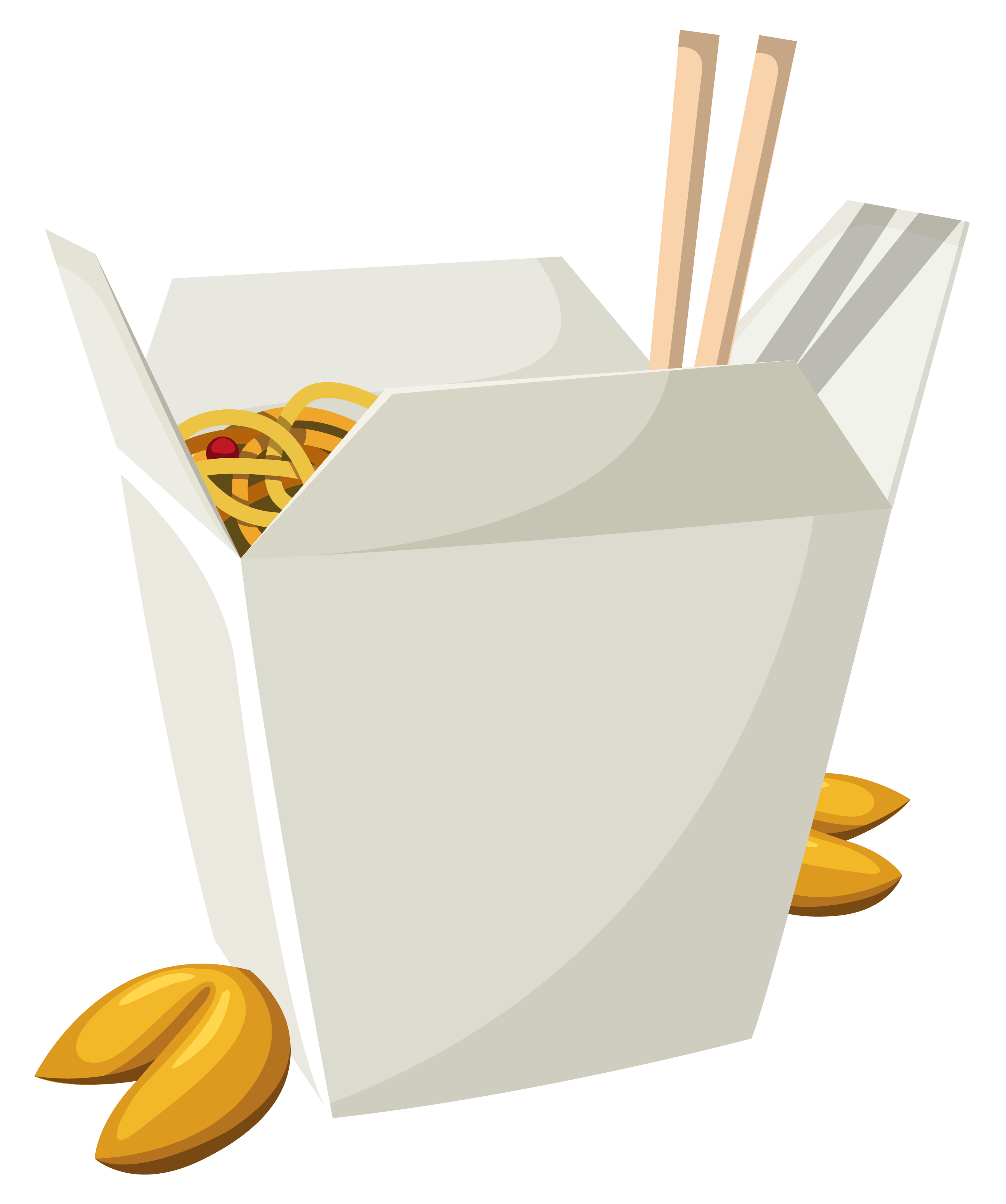Meal clipart vegetarian meal. Chinese food in box