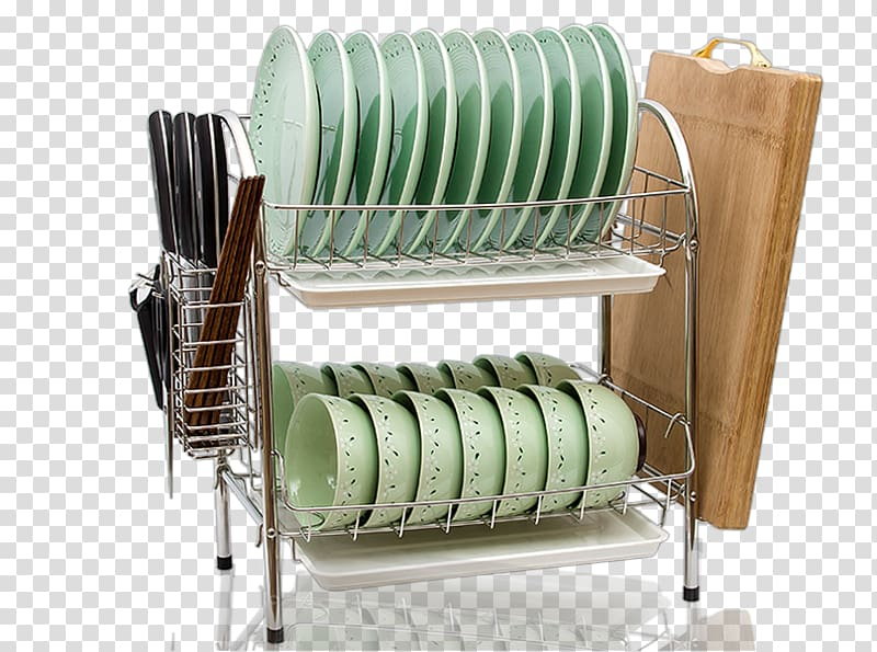 Dishes clipart dish rack. Stainless steel plate table