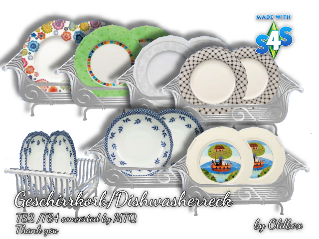 Dishes clipart dish rack. Lana cc finds dishwasher