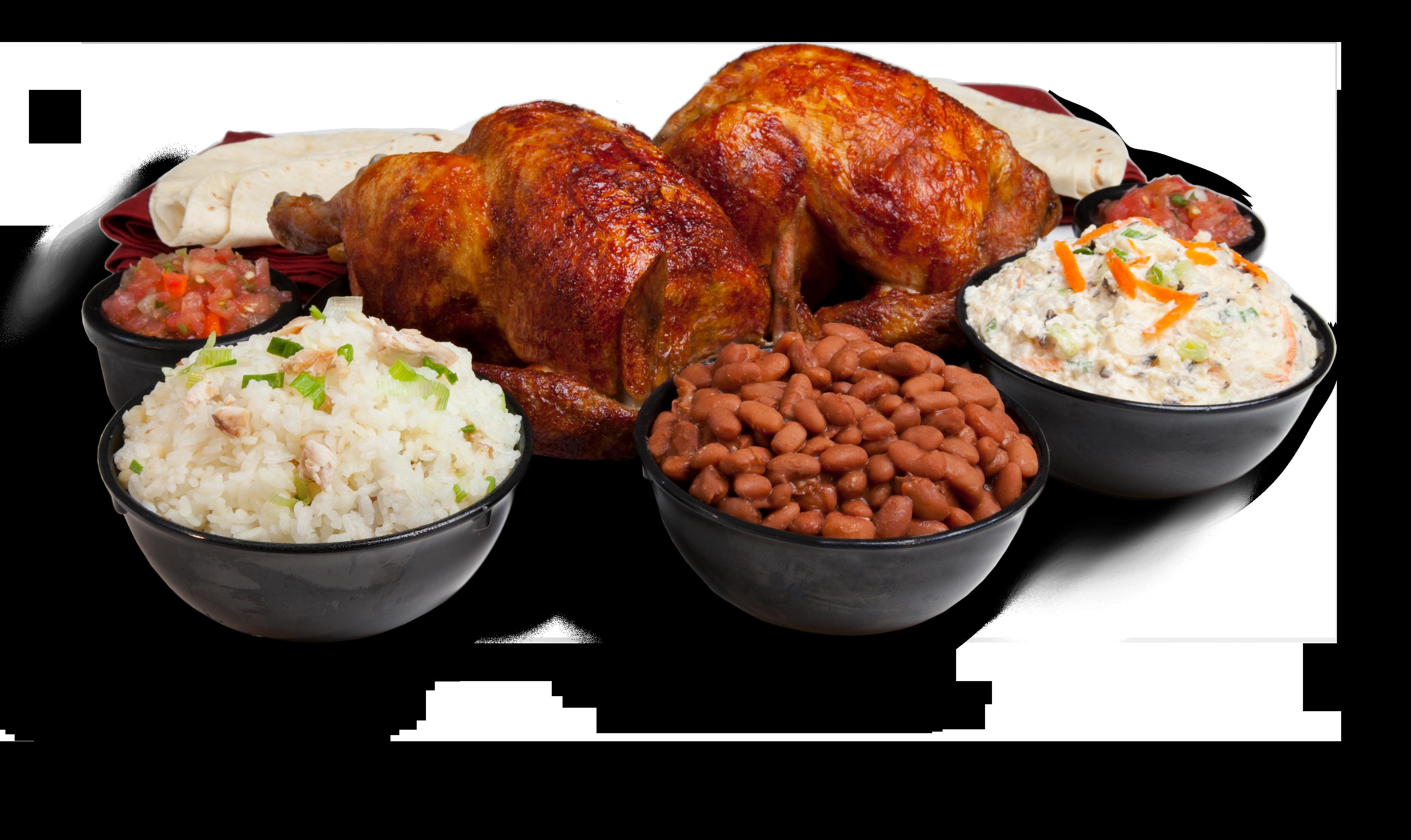 Meal paks juan pollo. Dish clipart entree