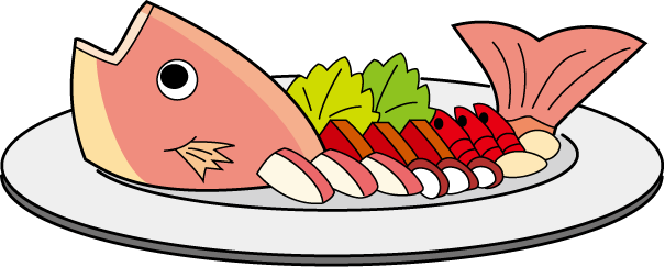 Seafood clipart raw fish. Free bake cliparts download