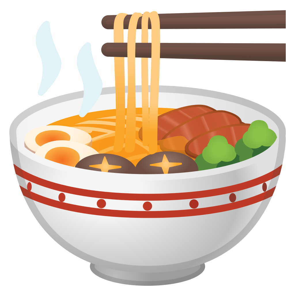 Dishes clipart milk bowl. Steaming icon noto emoji