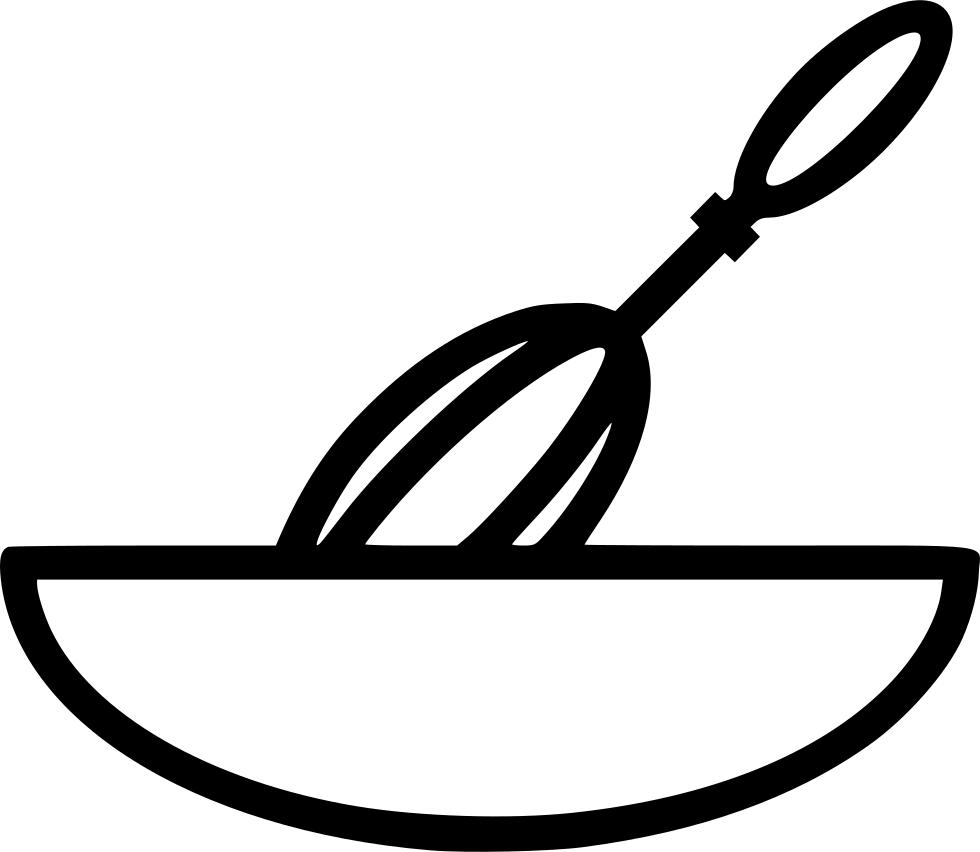 Dish mixing bowl