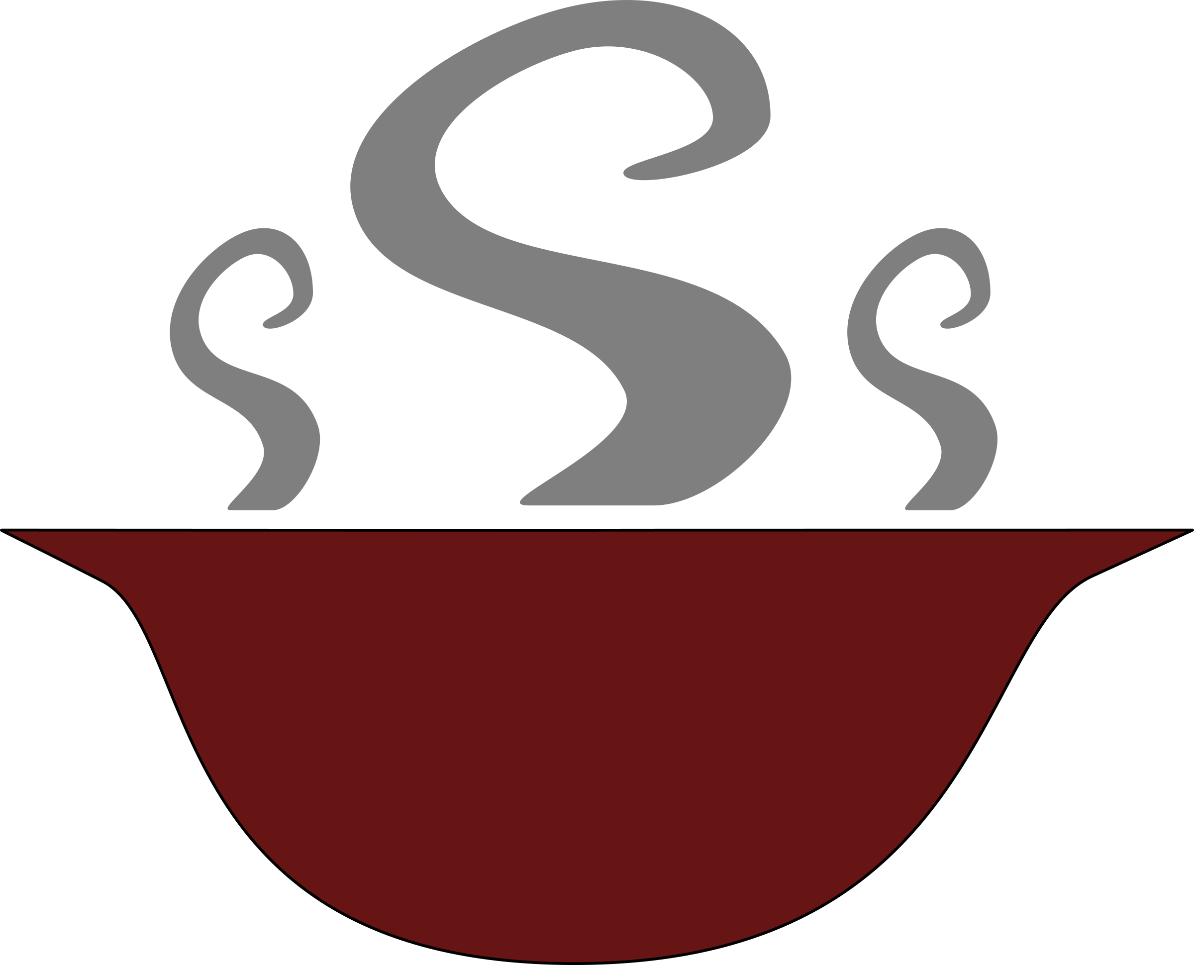 Plate clipart soup bowl. Hulasch of steaming