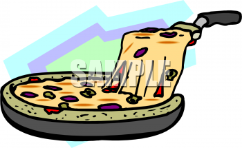 Picture of a foodclipart. Pizza clipart deep dish pizza