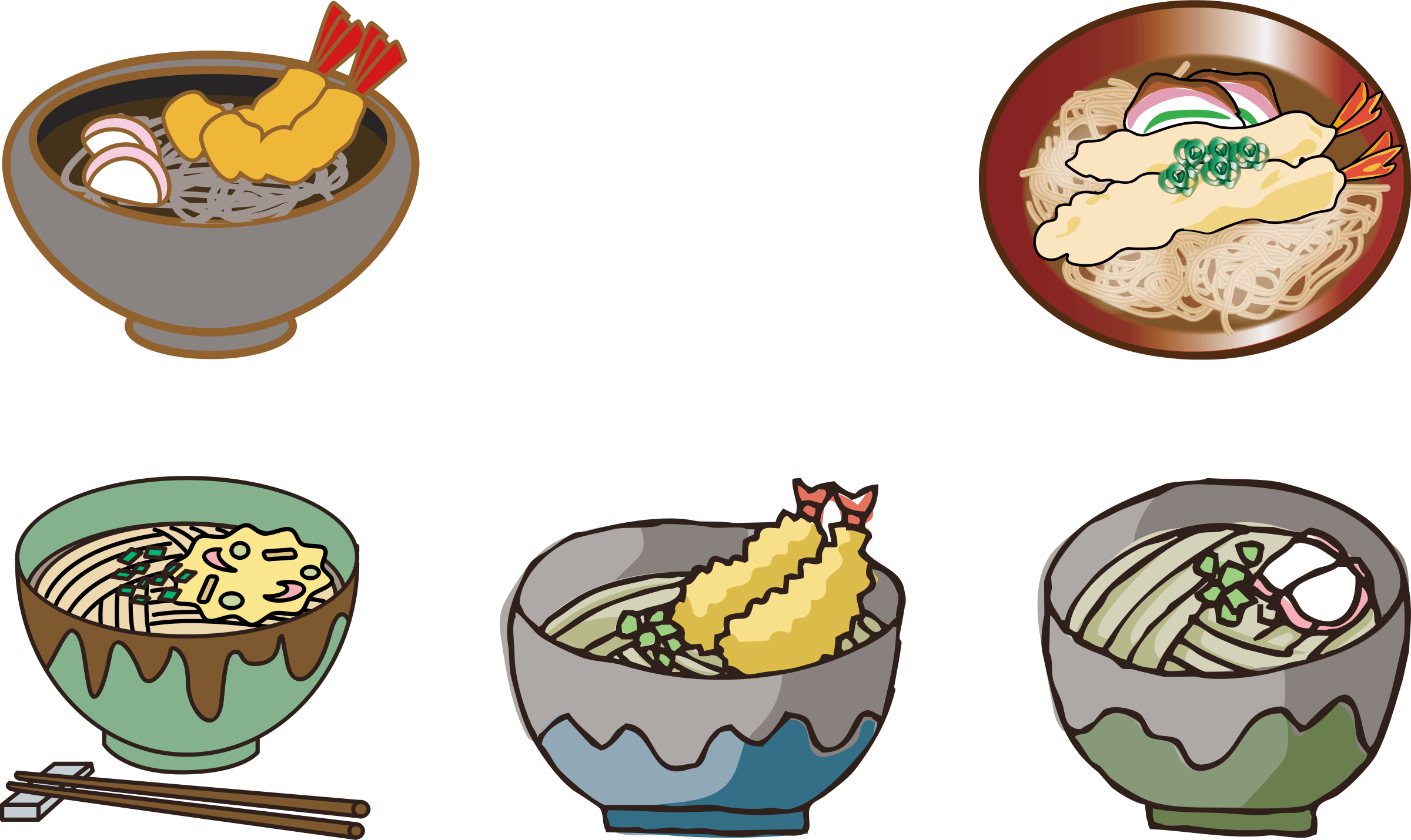 Noodles clipart illustration. Soba icons png free