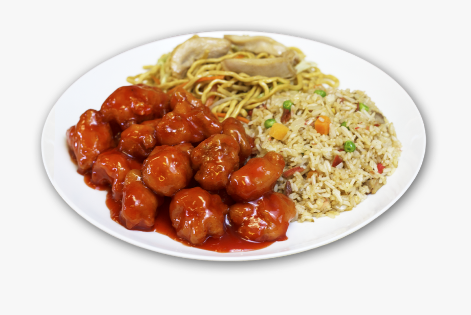 Plate clipart plate chinese. Combination plates china cafe