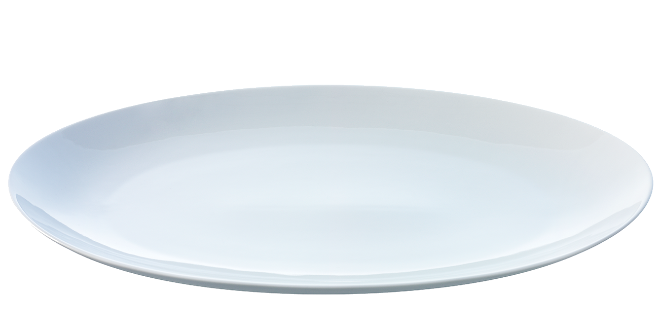 Seven isolated stock photo. Dish clipart plate outline