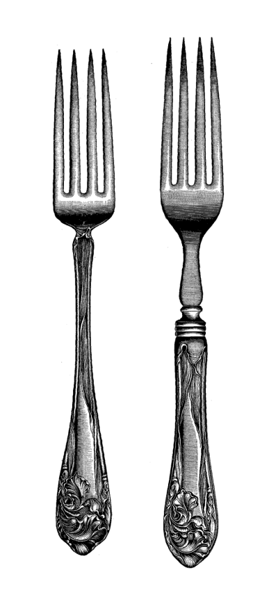 Purple clipart fork. Download silverware free png