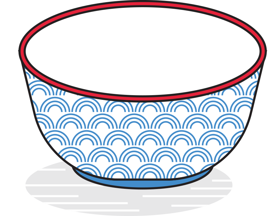 Far from eggs bacon. Dishes clipart steamed vegetable