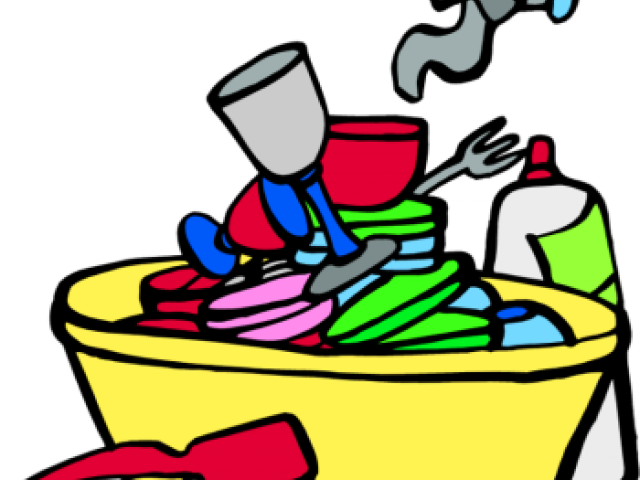 Dishwasher clipart man. Dirty dishes cliparts free