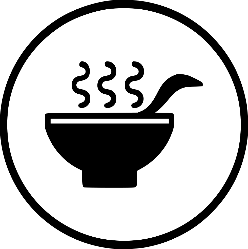 Drink healthy hot spoon. Dish clipart soup bowl