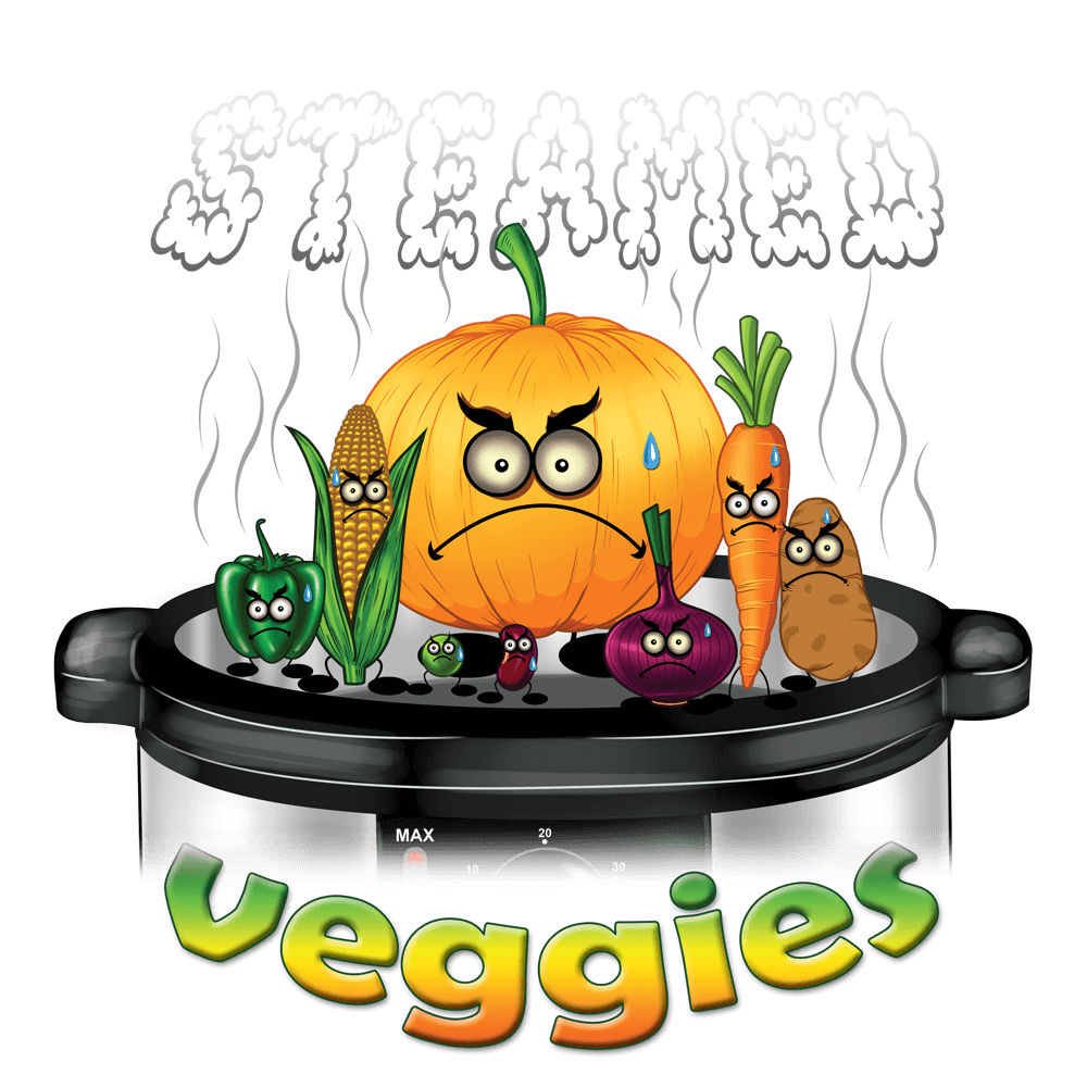 Veggies punny shirt canadian. Dishes clipart steamed vegetable