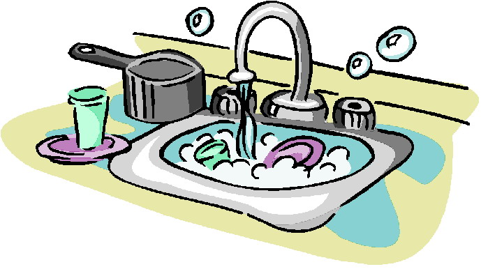 Dishes clipart plain. Free cleaning cliparts download