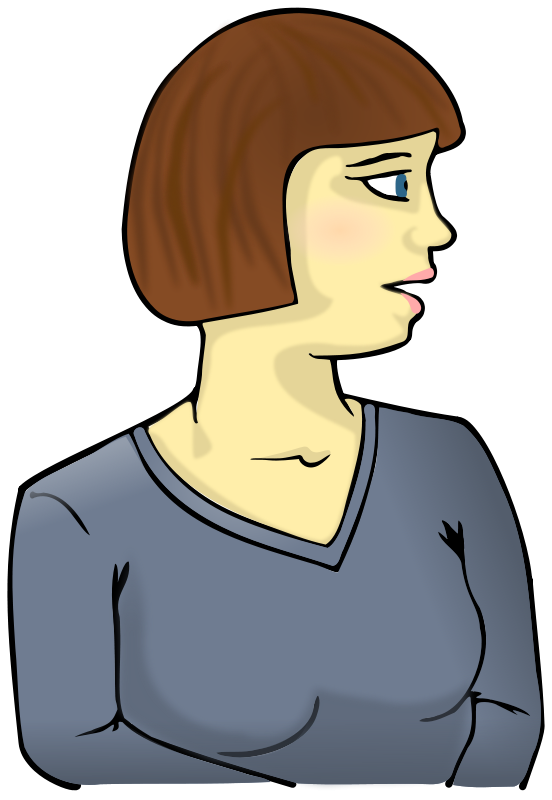 Looking at petri . Dish clipart woman