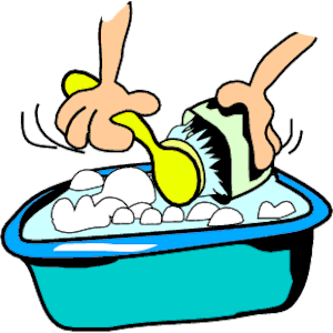 Clean . Dishes clipart