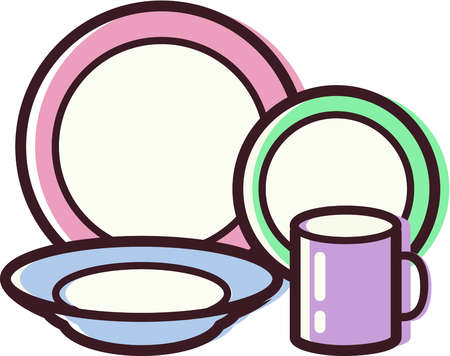Dishes clipart. Free dish cliparts download