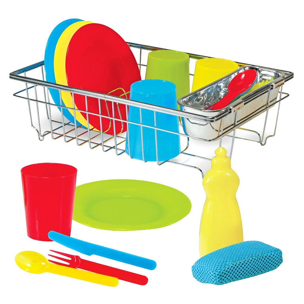 Melissa doug let s. Dishes clipart dish rack