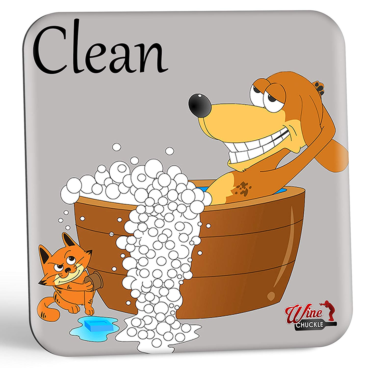 Dish doggy dirty magnet. Dishwasher clipart clean dishwasher