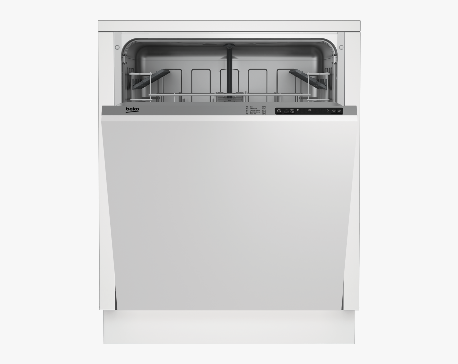 Dishwasher clipart full dishwasher. Dishes beko din x
