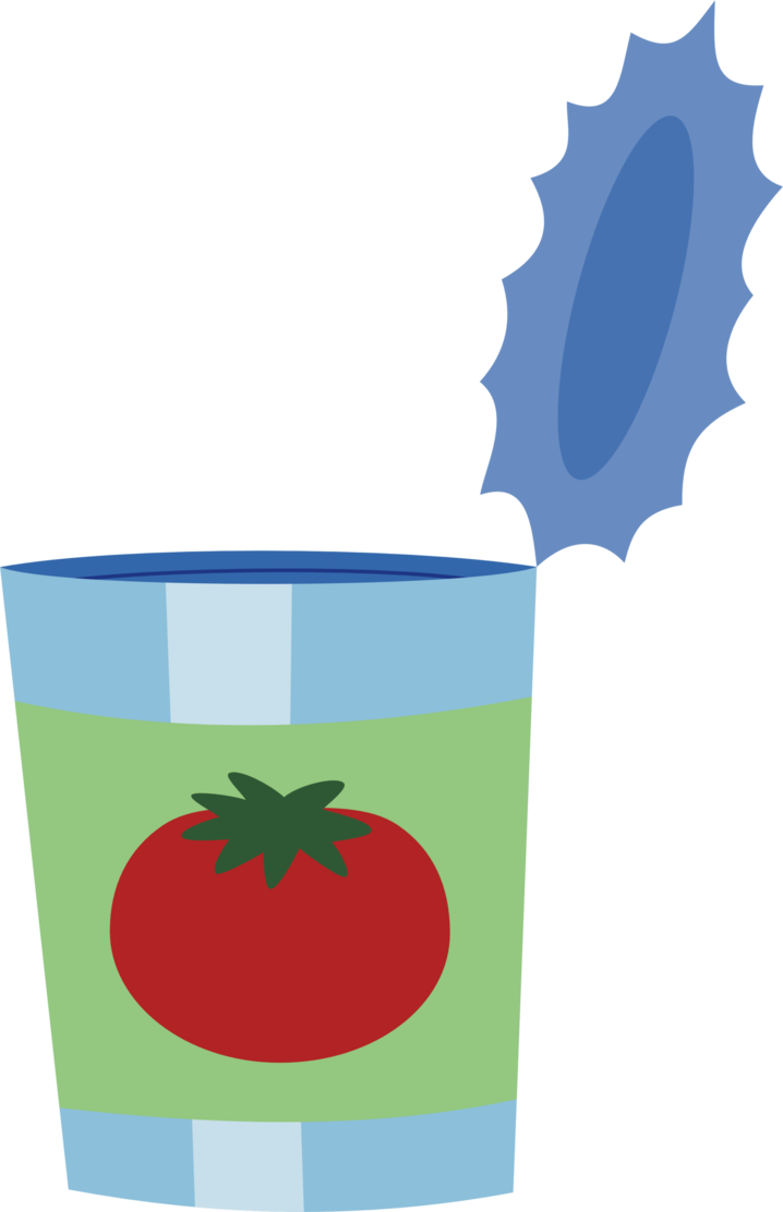 Empty can of by. Tomatoes clipart tomato juice