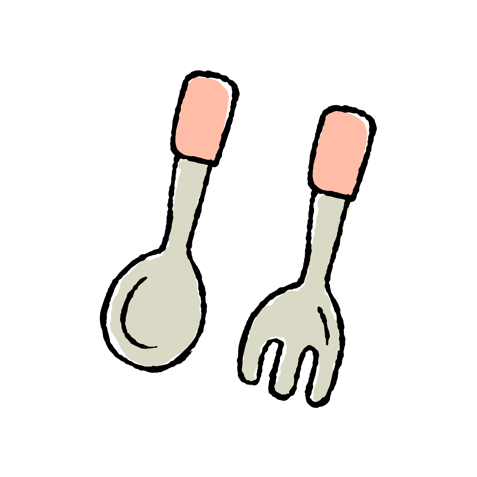 Collection of free forked. Fork clipart dinglehopper