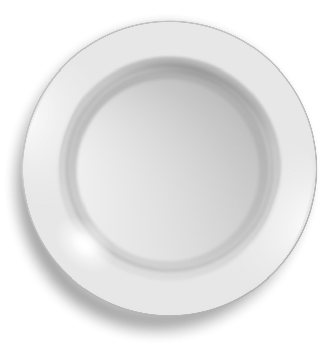 Panda free images plateclipart. Plate clipart plate china