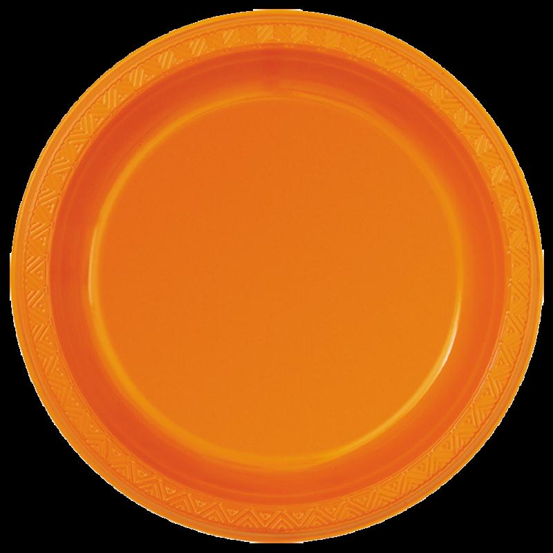 Plate plastic plate