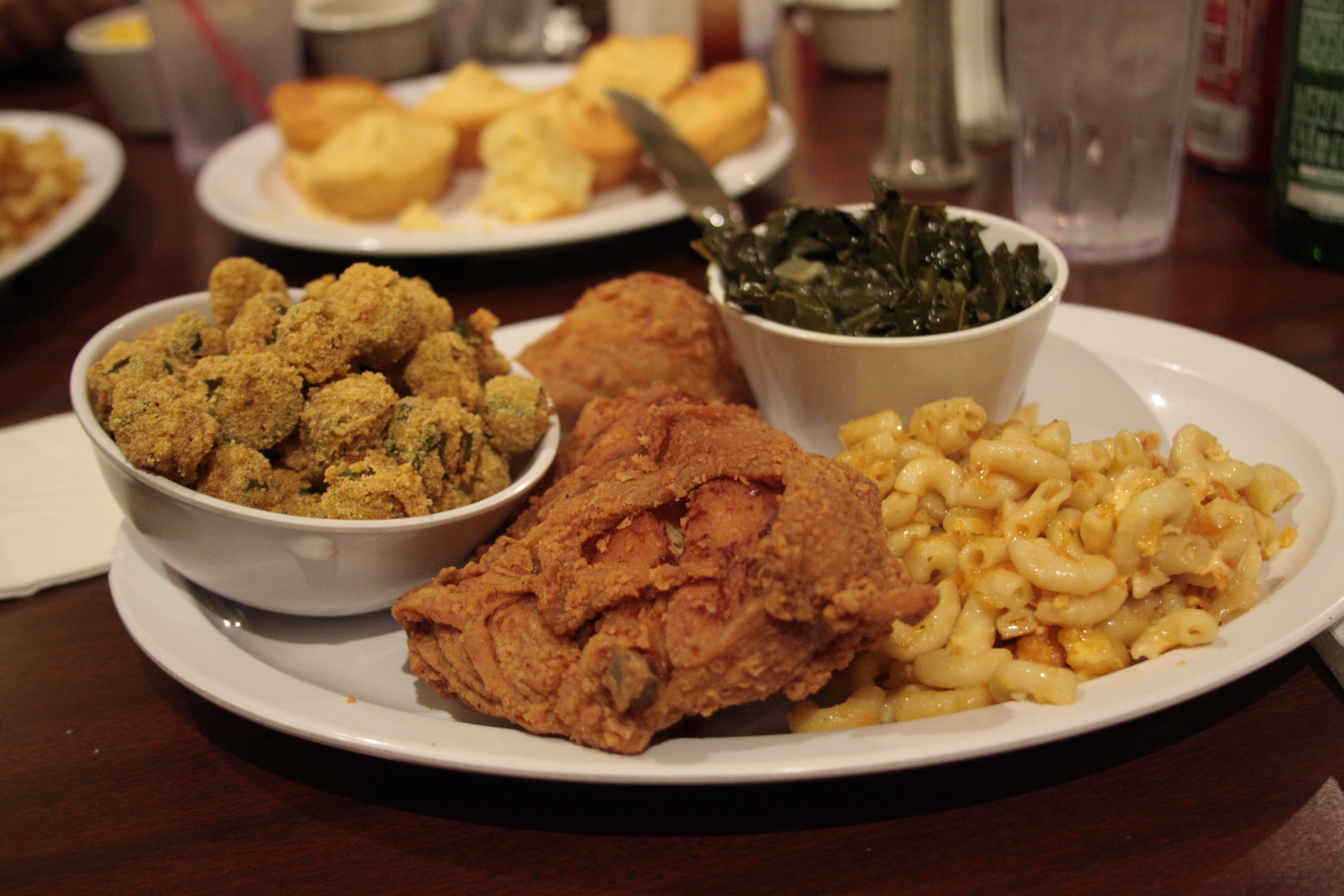 Dishes clipart soul food plate. A look at southern