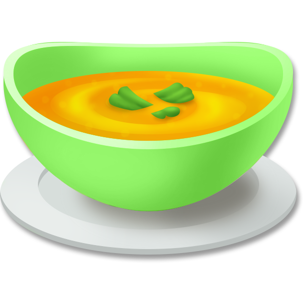 Image pumpkin png hay. Dishes clipart soup bowl