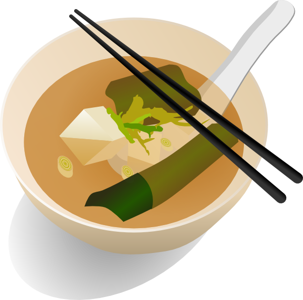 Miso clip art at. Soup clipart vector